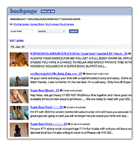 backpage sex trafficking